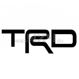 Adesivo toyota scritta TRD