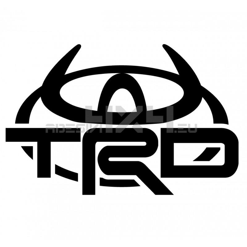 Adesivo TRD logo TOYOTA