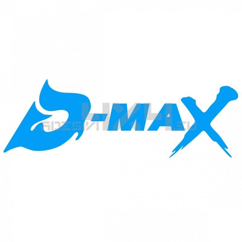 Adesivo isuzu d-max v2