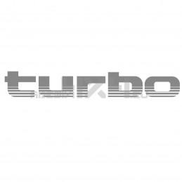 Adesivo scritta TURBO 2
