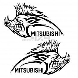Adesivo cinghiale MITSUBISHI