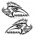 Adesivo cinghiale NISSAN