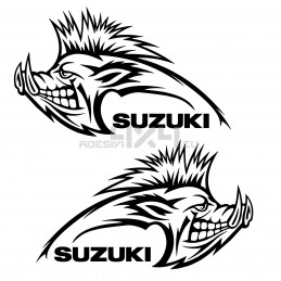 Adesivo cinghiale SUZUKI