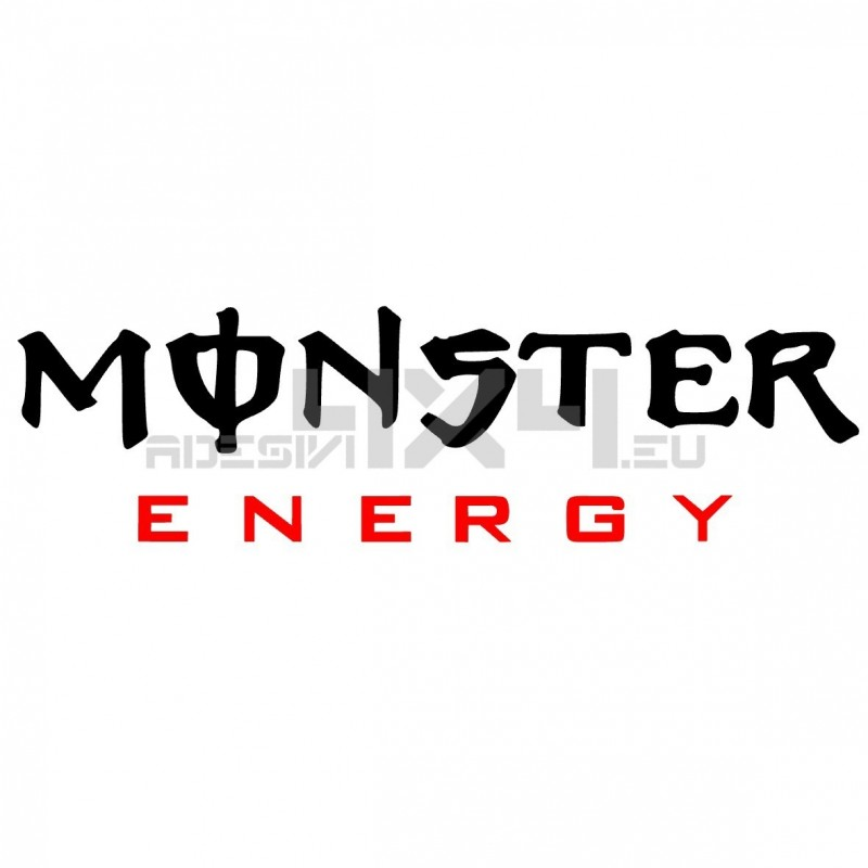 Adesivo MONSTER ENERGY scritta