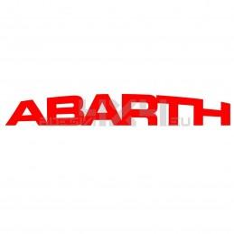 Adesivo scritta ABARTH