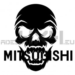 Adesivo Skull Mitsubishi
