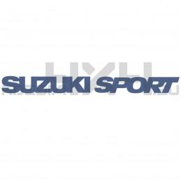 Adesivo suzuki sport scritta
