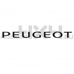 Adesivo scritta Peugeot ver 1