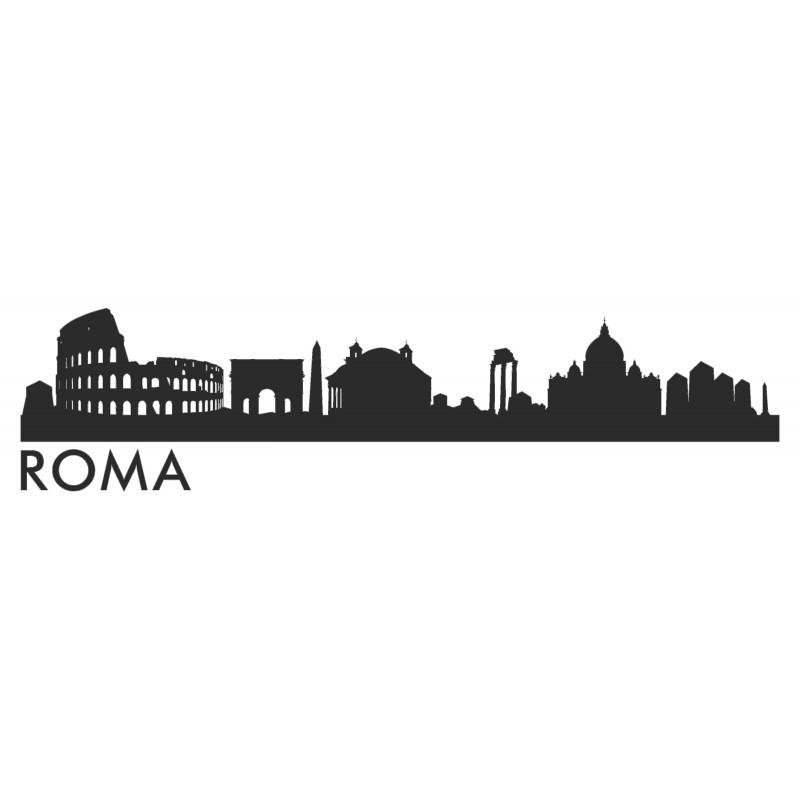 Adesivo skyline ROMA