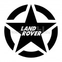 Adesivo stella us army land rover