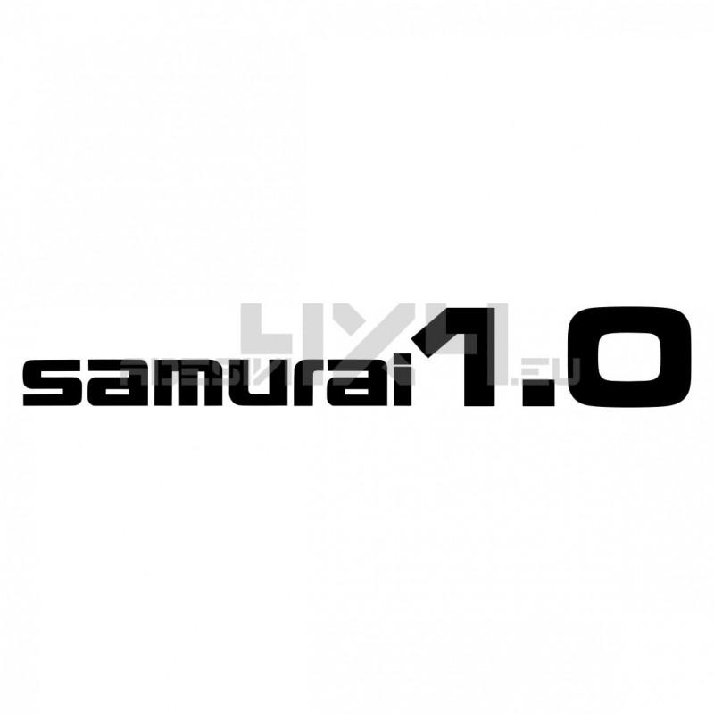 Adesivo suzuki scritta SAMURAI 1.0