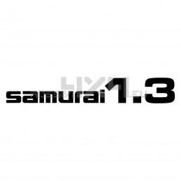 Adesivo suzuki scritta SAMURAI 1.3