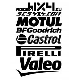 Adesivo tuning brand 04
