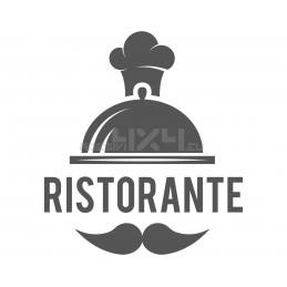 Adesivo vetrofania ristorante 4