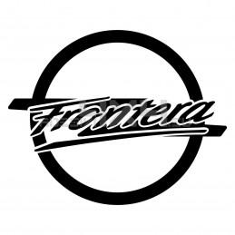 Adesivo logo OPEL scritta FRONTERA