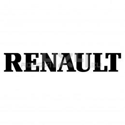 Adesivo RENAULT scritta v2