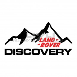 Adesivo 4x4 montagne land rover discovery