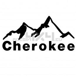 Adesivo montagne cherokee