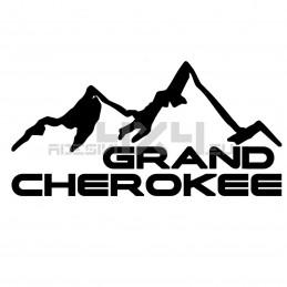 Adesivo montagne grand cherokee