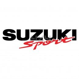 Adesivo scritta suzuki sport
