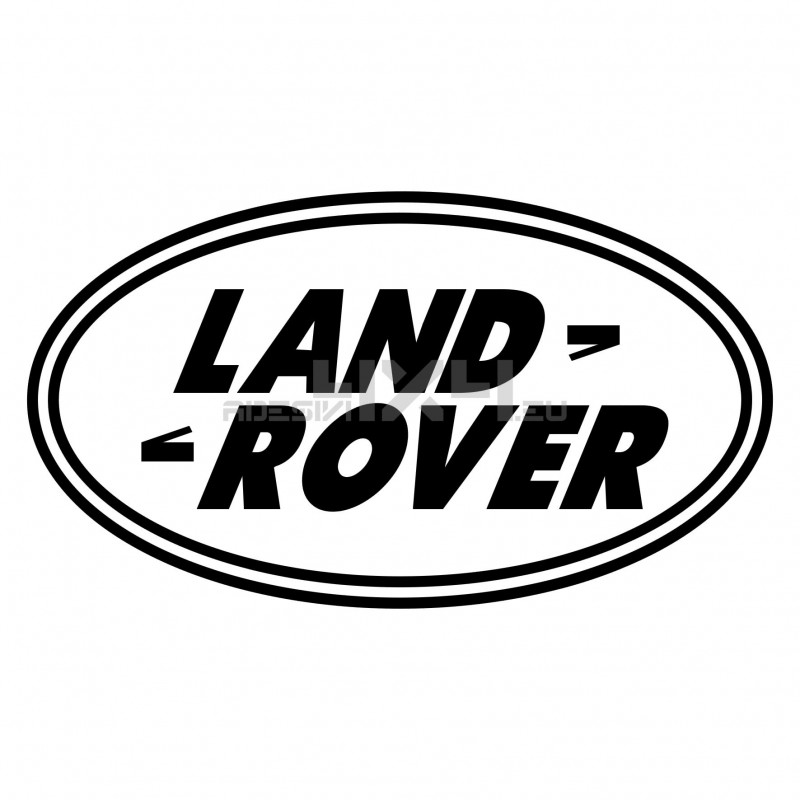 Adesivo logo LAND ROVER v4