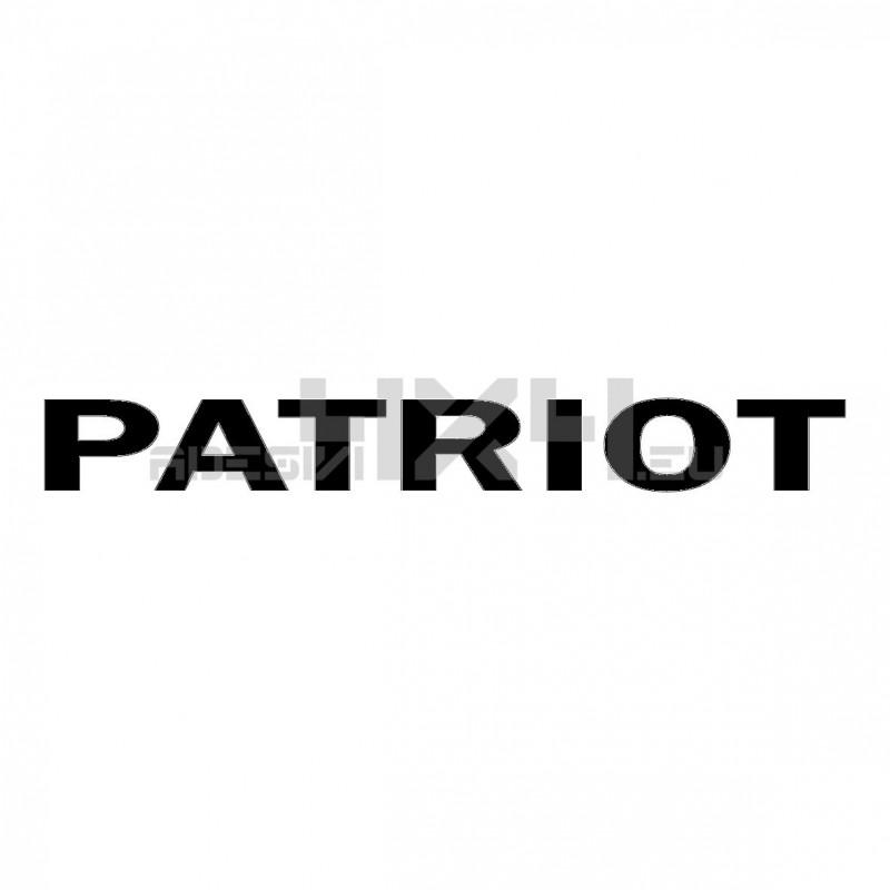 Adesivo jeep scritta PATRIOT