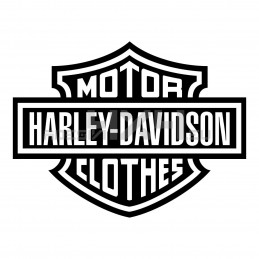 Adesivo harley davidson logo