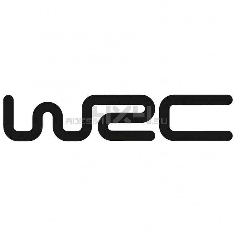 Adesivo WRC logo