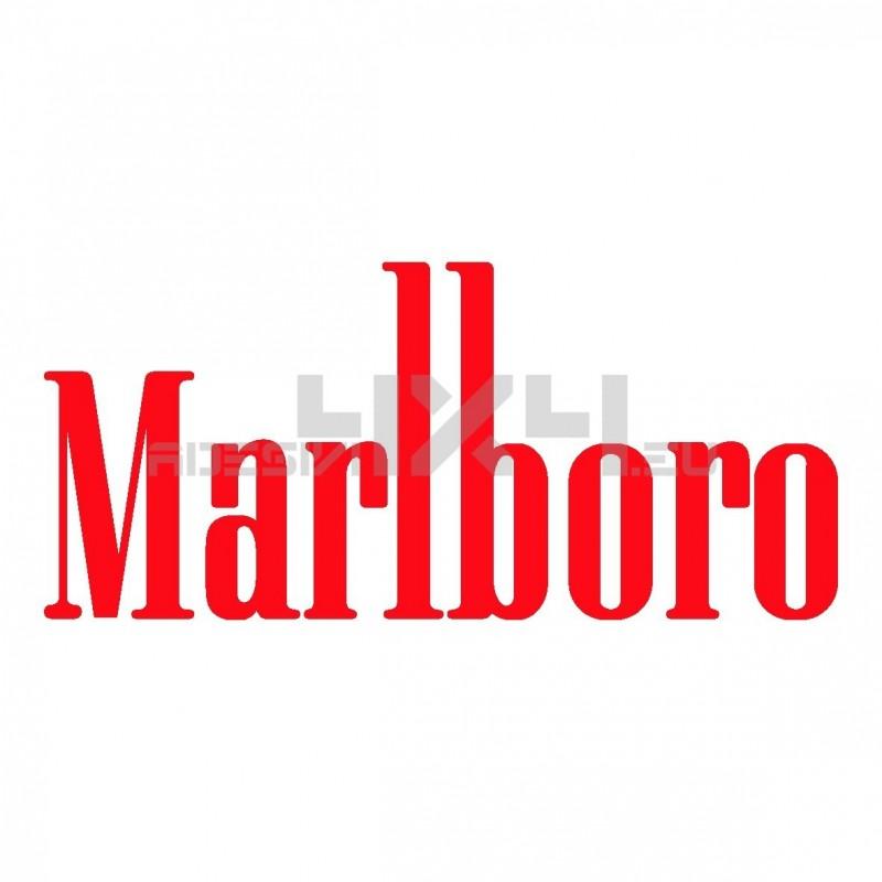 Adesivo Marlboro scritta
