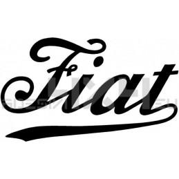 Adesivo logo FIAT old