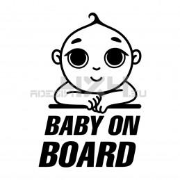 Adesivo baby on board 01