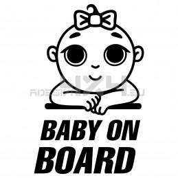Adesivo baby on board 02