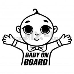 Adesivo baby on board 03