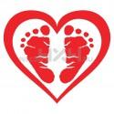 Adesivo baby love 02