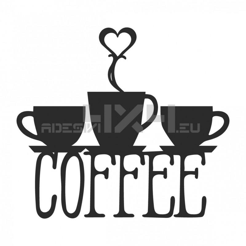 Adesivo coffee love 01