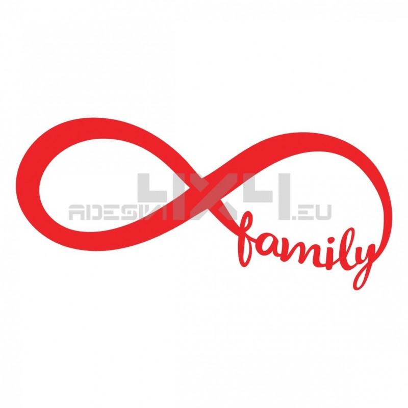 Adesivo infinity family