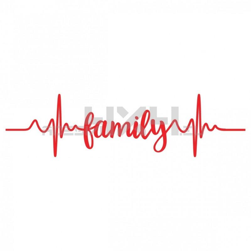 Adesivo family pulse