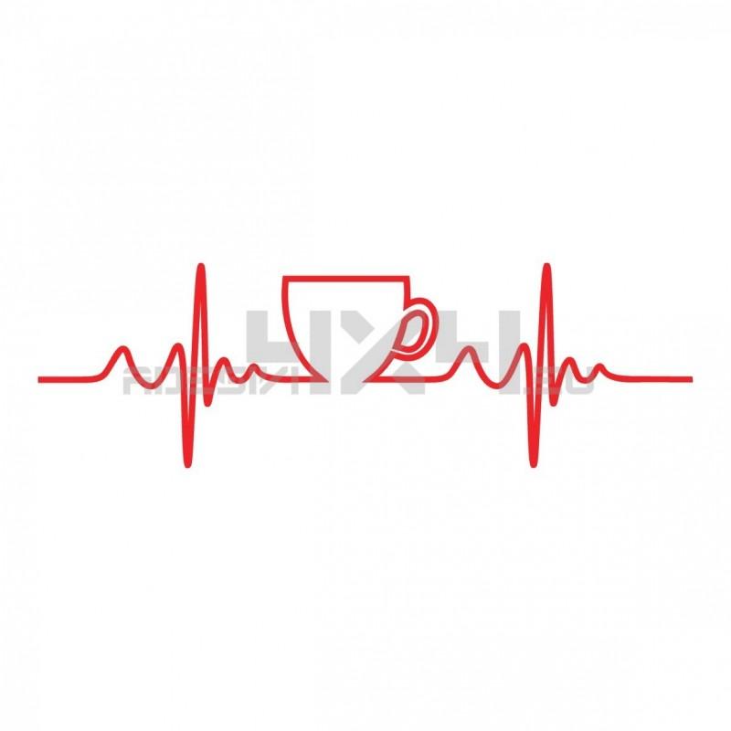 Adesivo coffee pulse