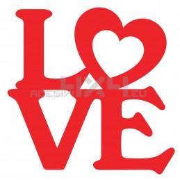 Adesivo love