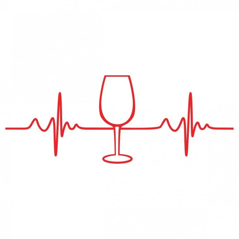 Adesivo wine pulse