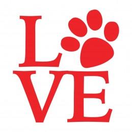 Adesivo dogs love