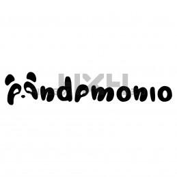 Adesivo scritta pandemonio