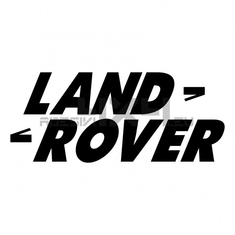 Adesivo logo LAND ROVER v6