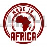 Adesivo made in africa