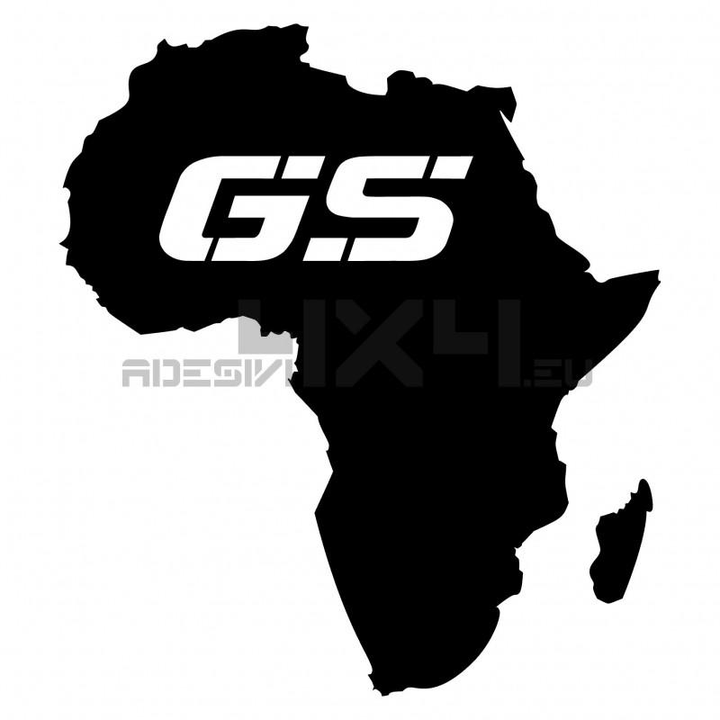 Adesivo africa bmw gs