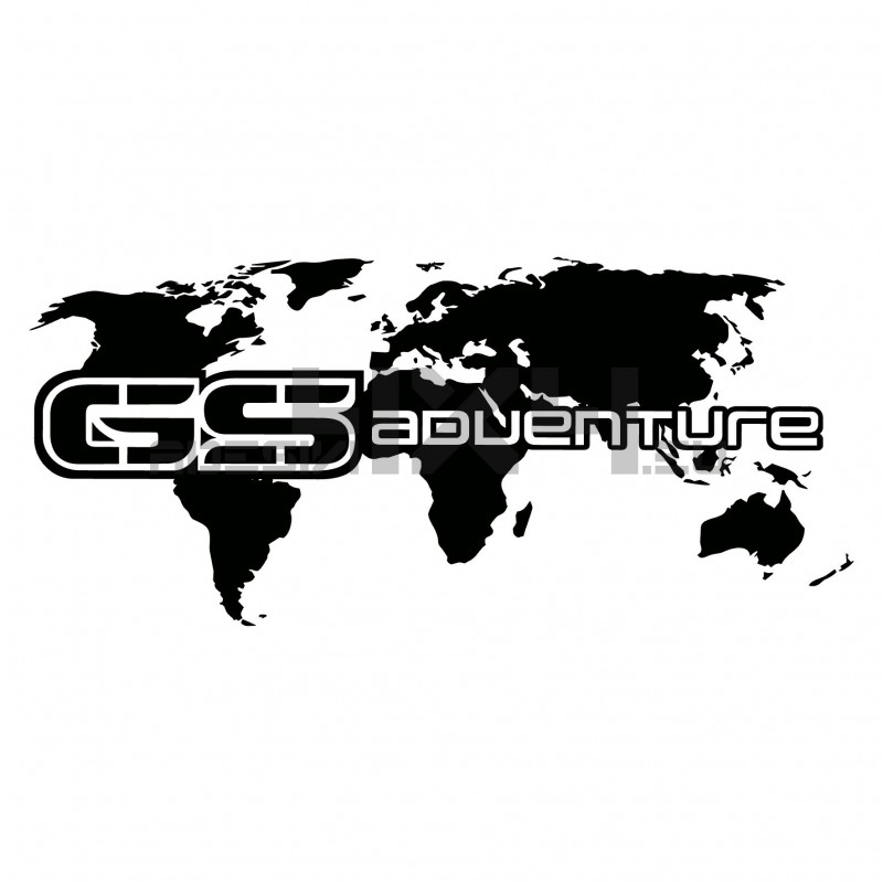 Adesivo bmw GS adventure
