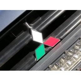 Adesivo logo stemma MITSUBISHI tricolore