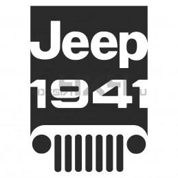 Adesivo Jeep 1941 - 01