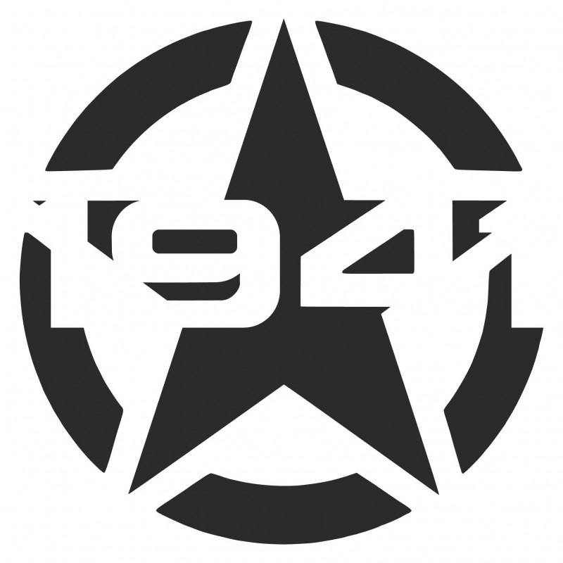 Adesivo stella US ARMY 1941