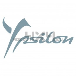 Adesivo lancia scritta new Ypsilon